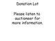 Donation 613827f72730b1ded333924ce028e7cc
